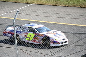 Chase Elliott - Elliott's K&N Pro Series East car at Rockingham in 2012
