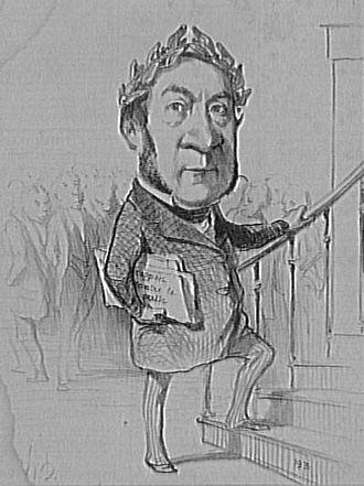 Prosper de Chasseloup-Laubat - Prosper de Chasseloup-Laubat according to Honoré Daumier.