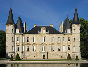 French wine - Château Pichon Longueville Baron in Bordeaux corresponds well to the traditional image of a prestigious French château, but in reality, French wineries come in all sizes and shapes.