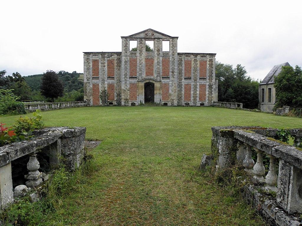 Le château d'Harcourt à Thury-Harcourt