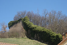 Ruines du château vieux