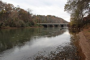 Chattahoochee Plantation, Georgia - The Chattahooche River near Johnson Ferry Road