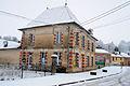 Cheppy sous la neige. La mairie.JPG