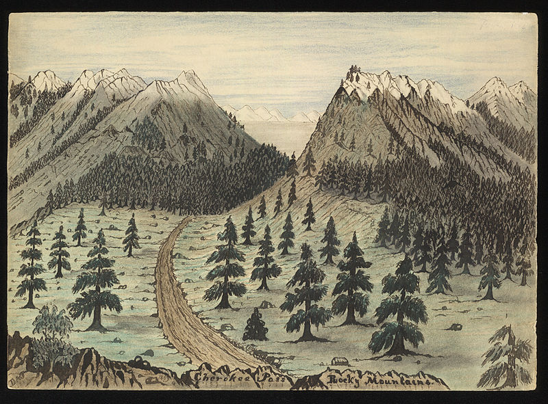 http://upload.wikimedia.org/wikipedia/commons/thumb/4/4c/Cherokee_Pass.jpg/800px-Cherokee_Pass.jpg?uselang=it