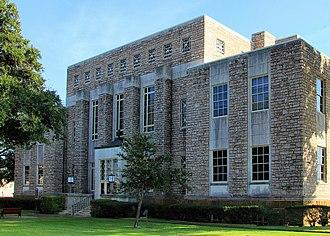 Cherokee County, Texas - Image: Cherokee county tx courthouse