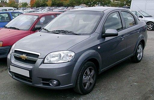 Chevrolet Aveo front 20081007