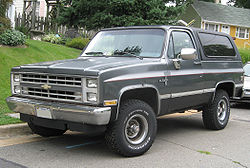 Chevrolet K5 Blazer - Wikipedia, the free encyclopedia
