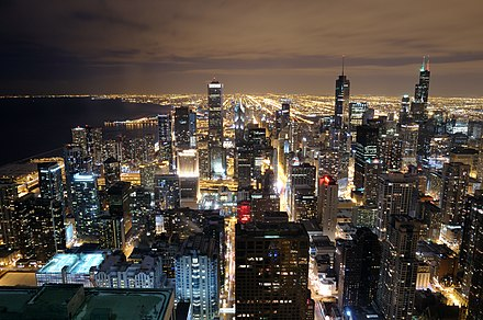 Chicago Skyline from John Hancock 96th floor.jpg