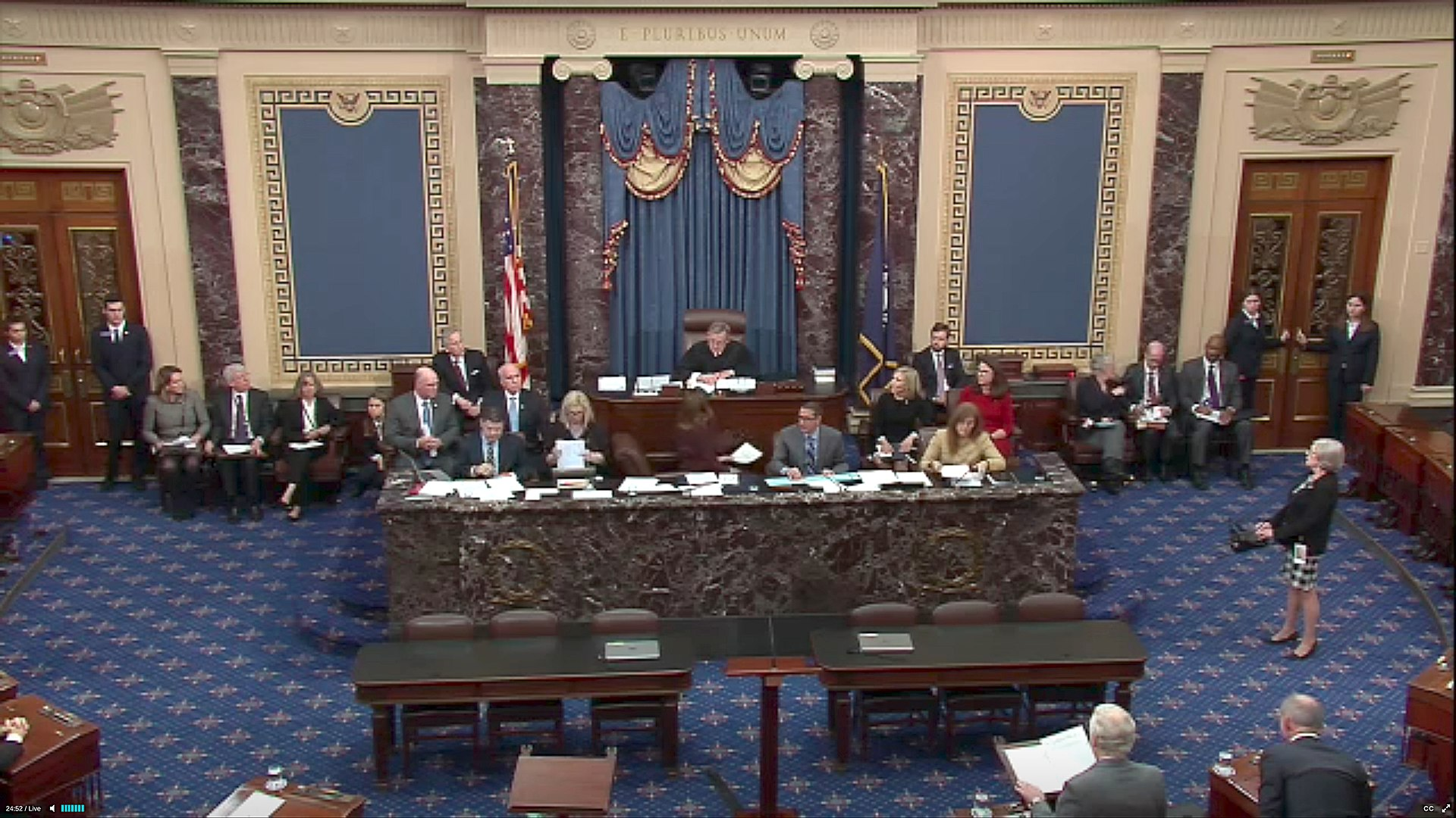impeachment trial of President Donald J. Trump