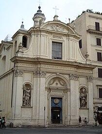 Chiesa dei Santi Claudio e Andrea dei Borgognoni Roma.JPG
