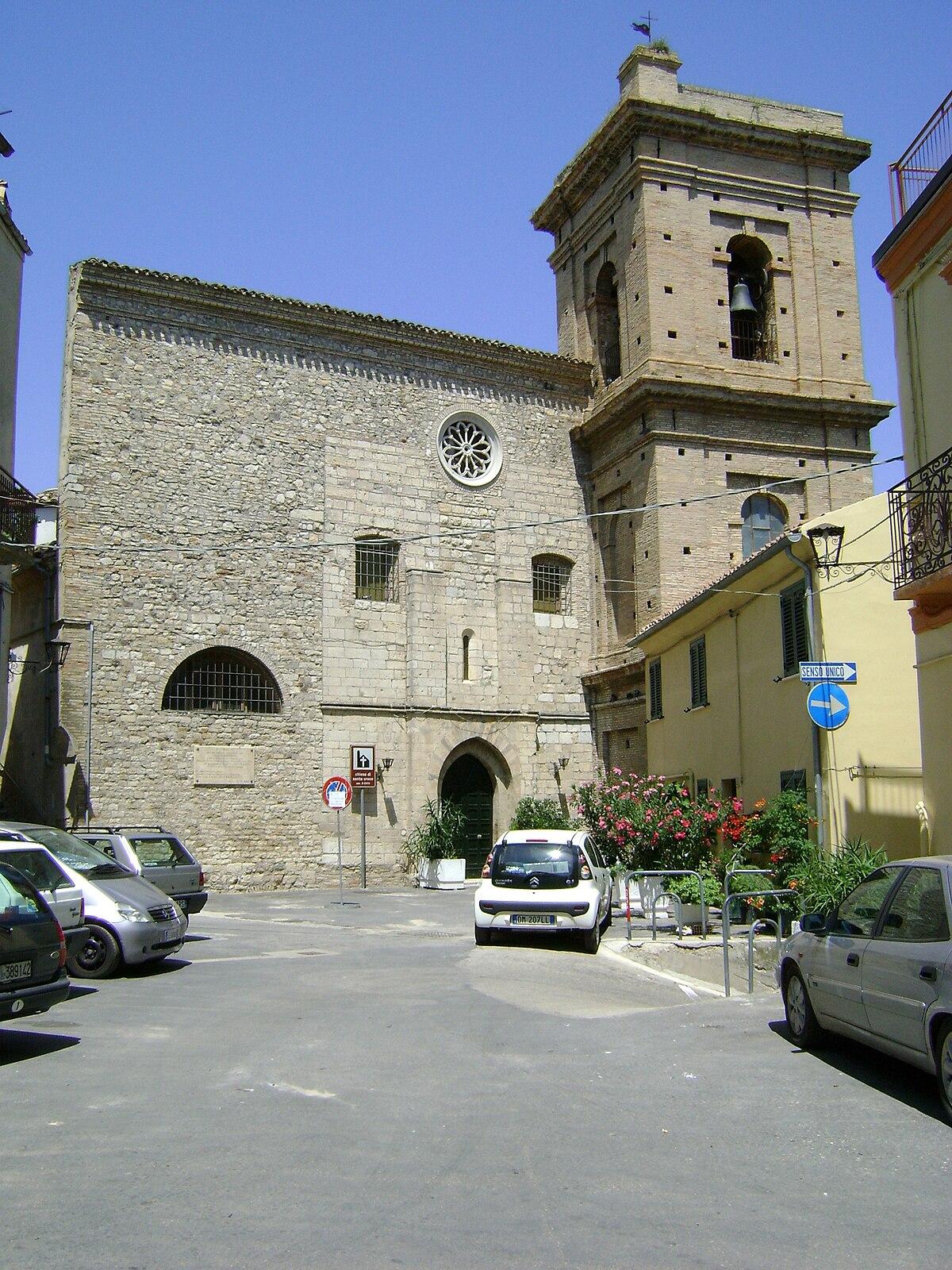 Chiesa di santa croce atessa wikipedia - Elementi architettonici di una chiesa ...