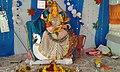 Chinalingala Dussera 2015 Sri Saraswathi devi Alamkaram by Girikonda.jpg