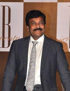 Chiranjeevi Indian actor and politician