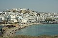Chora of Naxos from islet Palatia, 080492.jpg