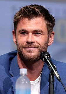 Chris Hemsworth Australian actor