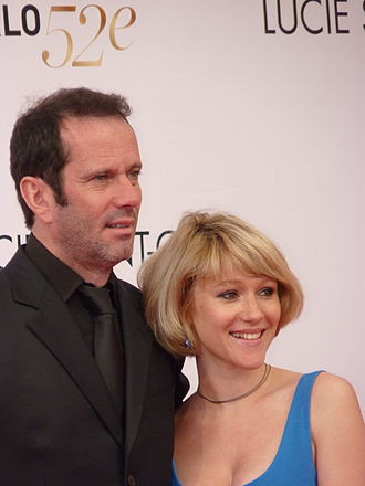 Christian Vadim - Christian Vadim and wife Julia Livage in 2012 Monte-Carlo Television Festival