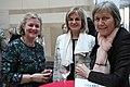Christiane Gräfin zu Rantzau, Christie's Repräsentantin Berlin, Dr. Inge Groth-Fromm und Dr. Monica Steegmann (40042026365).jpg