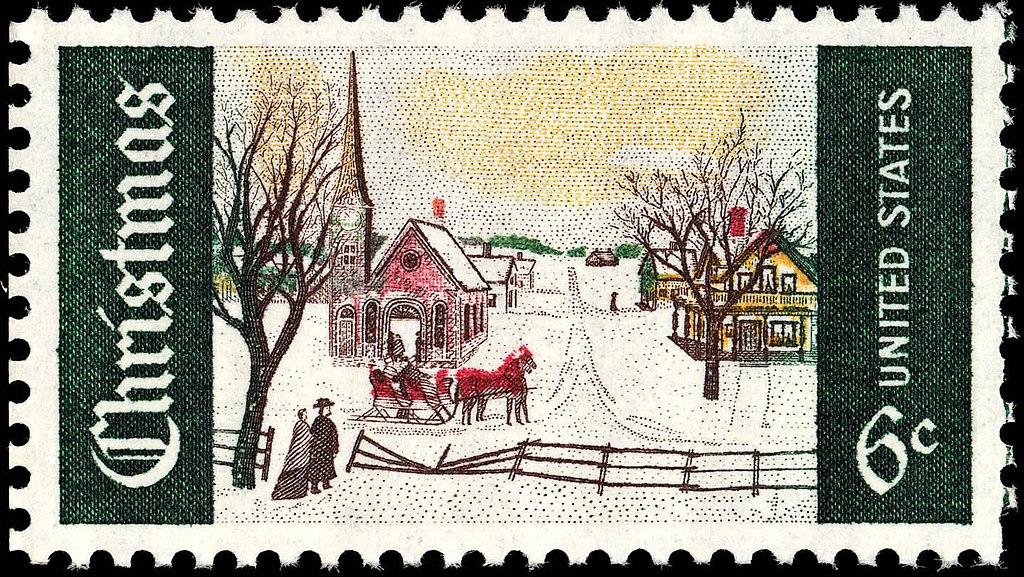 File Christmas 6c 1969 Issue U S Stamp Jpg Wikipedia
