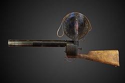 Étienne-Jules Marey: Chronophotographic gun-CnAM 16955