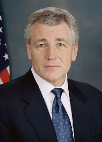 Chuck Hagel - Hagel's portrait as a senator.