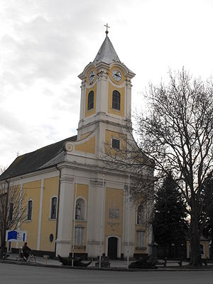 Csanádpalota - The town's Roman Catholic church was established in 1763 through the special efforts of Supreme judge György Fekete.