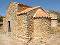 Church at Limnakaro plateau in Crete.jpg