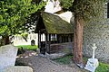 Church of St Martin White Roding Essex England - south porch.jpg