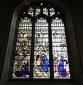 Church of St Mary, High Easter, Essex, England - chancel east stained window.jpg