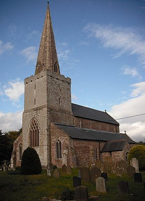 "Church of St Nicholas, Trellech - ""One of the finest churches in the county"""