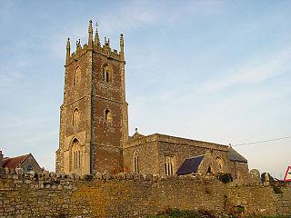 Church of SS Quiricus & Julietta, Tickenham church in North Somerset, UK