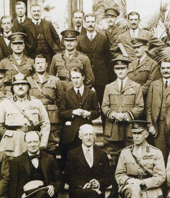 Churchill Cairo Conference 1921