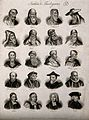 Churchmen; twenty portraits of religious thinkers. Engraving Wellcome V0006814.jpg