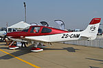 Cirrus SR22 G3 GTS-X 'ZS-CNM' (16722148150).jpg
