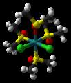 Cis-fac-dichlorotetrakis(dimethyl-sulfoxide)ruthenium(II)-from-xtal-2008-3D-balls.png