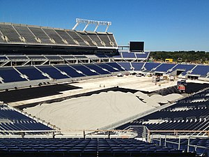 Camping World Stadium - Renovation nearing completion in late 2014
