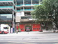 City of London Fire Station location of All-Hallows-the-Great church.JPG