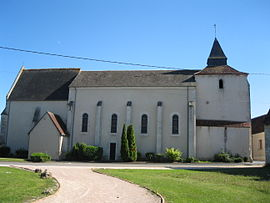The church in Civray