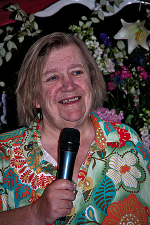 Clarissa Dickson Wright - Dickson Wright at a fundraising dinner for the Countryside Alliance in 2011.