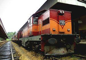 EMD G22C Series - G22CW In Sri Lanka - Class M6 Locomotive