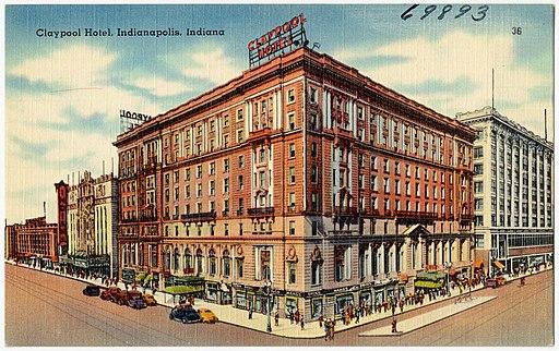 Claypool Hotel, Indianapolis, Indiana (69893)
