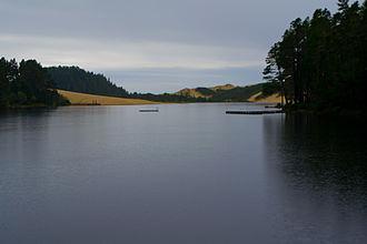 Cleawox Lake - The lake