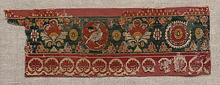 Decorated Band from a Tunic or Curtain