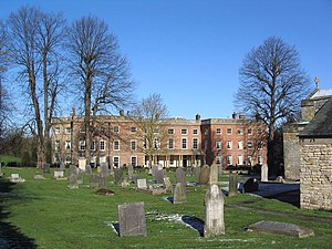 Clifton, Nottingham - Image: Clifton Hall Beeston