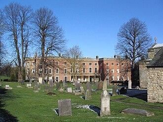 Clifton, Nottingham - Image: Clifton Hall Beeston