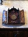 Clock in Santa Maria Gloriosa dei Frari, Venice.jpg