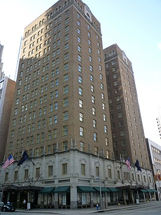 Club Quarters Hotel (Houston) - Image: Clubquarters Houston