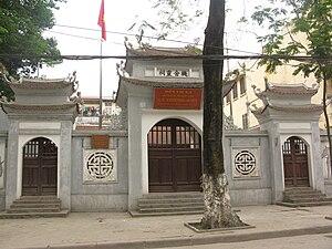 Lý Thường Kiệt - Cơ Xá Linh Từ in Hanoi, a shrine to worship Lý Thường Kiệt