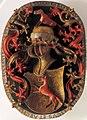 Coat of arms of Archdeacon Georg Fuchs von Wonfurt - Boss - St. Kilian's Cathedral - Würzburg - Germany 2017.jpg