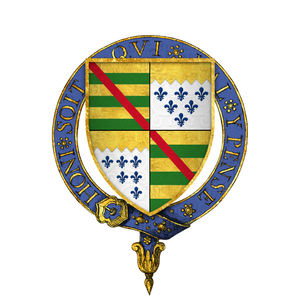 Edward Poynings - Arms of Sir Edward Poynings, KG