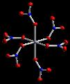 Cobalt(II)-nitrate-xtal-2002-Co2-coordination-CM-3D-ellipsoids.png